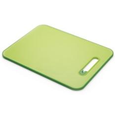 Большая зеленая разделочная доска с ножеточкой Slice&Sharpen
