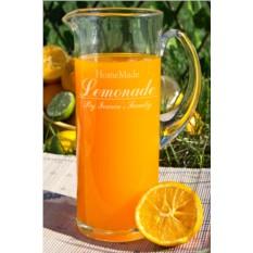 Кувшин с Вашим текстом Homemade Lemonade