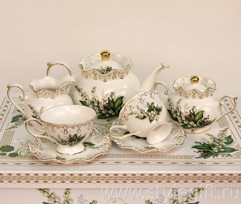 Чайный сервиз Ландыши