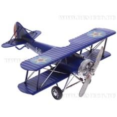 Модель Синий самолет , длина 25 см
