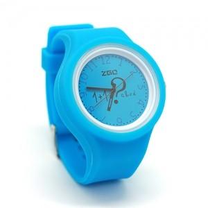 Часы Arithmetic (голубые)