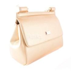 64f6215df3b5 Женская сумка Dolce Gabbana (цвет  золотой)