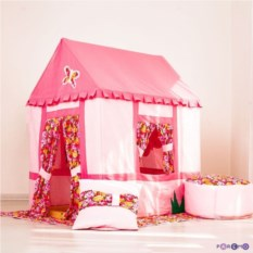 Текстильный домик-палатка с пуфиком Дворец Мирабель