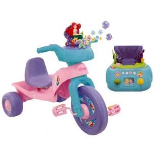 Трехколесный велосипед «Русалочка»