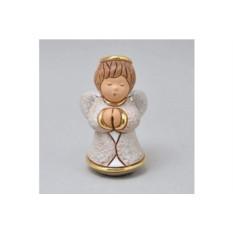 Керамическая статуэтка Молящийся ангелок в белом