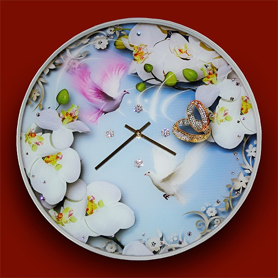 Часы с кристаллами На встречу любви
