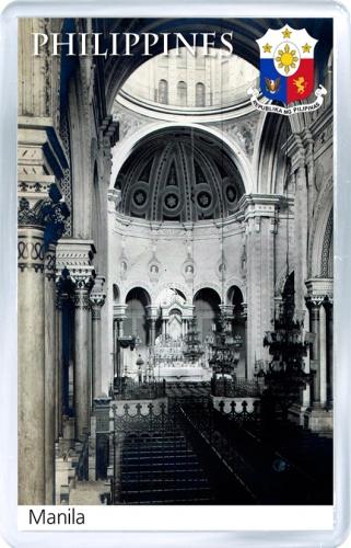 Магнит: Филиппины. Кафедральный собор (Манила)