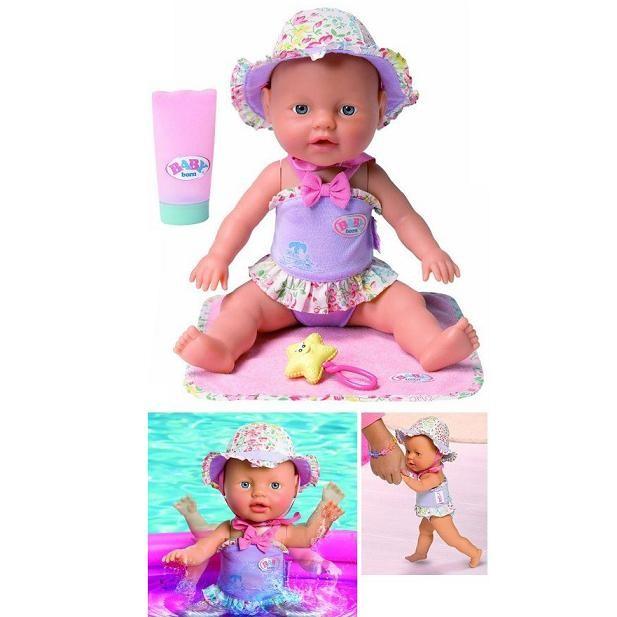 Кукла Baby born Веселые брызги