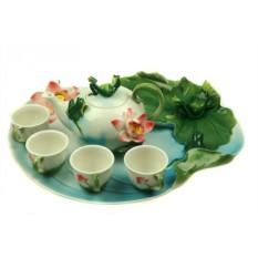 Подарочный чайный набор на 4 персоны Лягушка