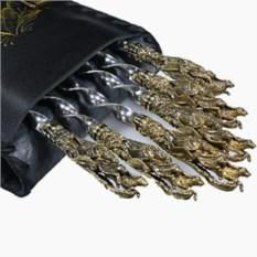 Шампуры с литыми ручками Соколиная охота