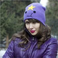 Вязаная шапка Принцесса Пупырка