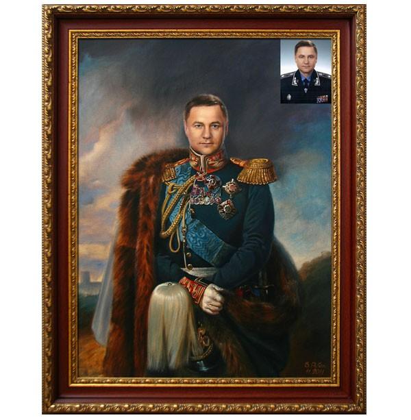 Портрет по фото в историческом образе