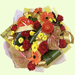 Букет цветов «Золотой»