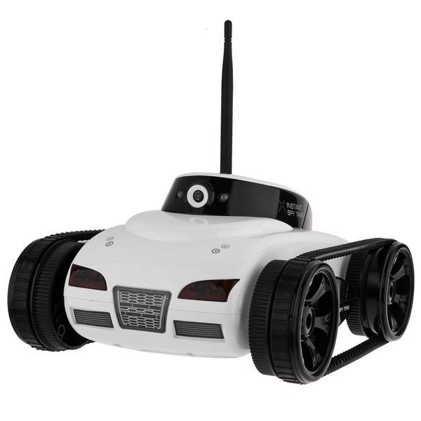 Радиоуправляемый танк-шпион I-Spy с камерой WiFi
