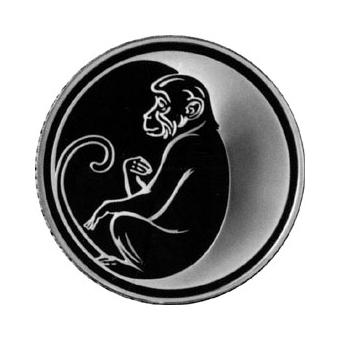 Монета «Год Обезьяны»