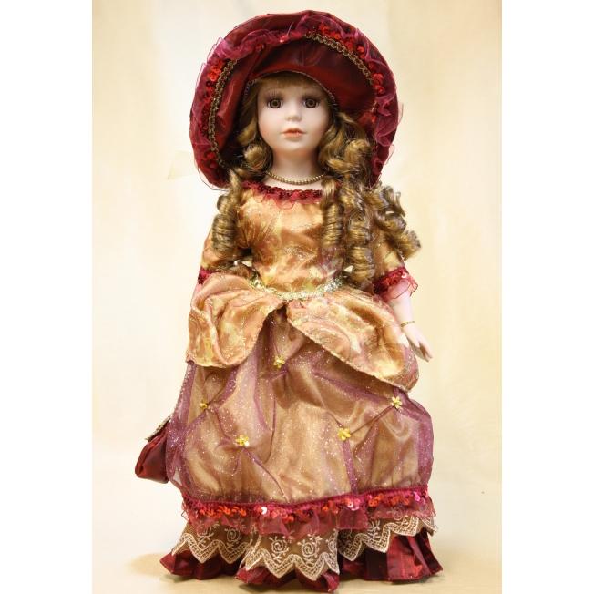 Фарфоровая кукла «Марина»