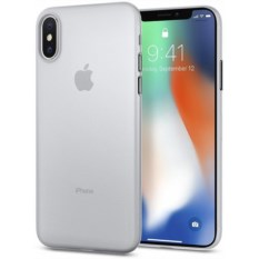 Чехол Spigen Air Skin Soft Clear для iPhone X