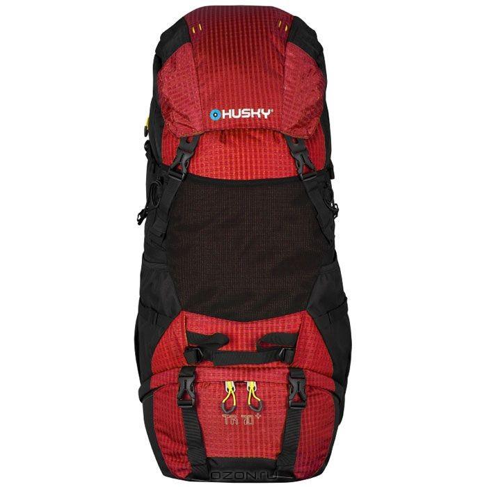 Туристический рюкзак Husky Guide 70L, красный