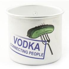 Алюминиевая кружка Vodka