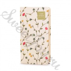 Блокнот Flowers Notebook – White