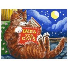 Картина по номерам «Сказки про котов»