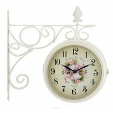 Часы настенные Paris на кронштейне, цвет: белый