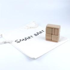Деревянный конструктор SmartBart с магнитами (8 деталей)
