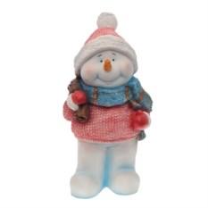 Декоративная фигурка Снеговик с мешком