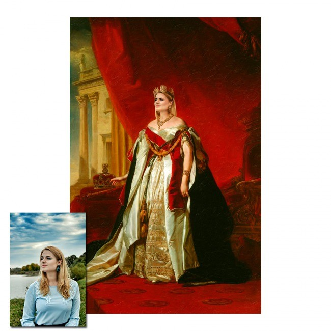 Портрет Царица