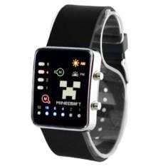 Наручные часы Майнкрафт со светодиодами