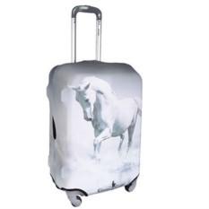 Чехол для чемодана Белый конь
