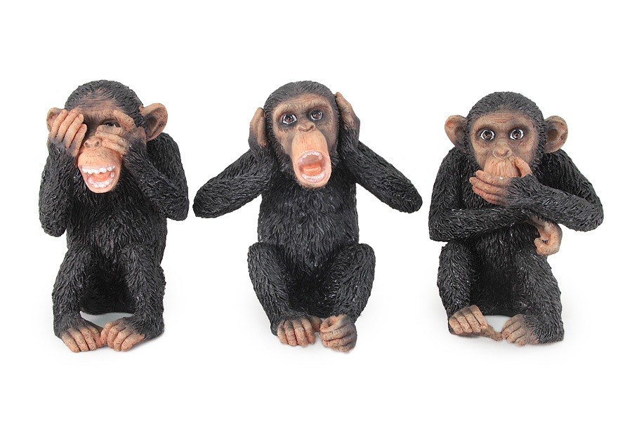 Набор статуэток Три обезьяны