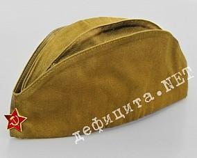 Пилотка советского солдата