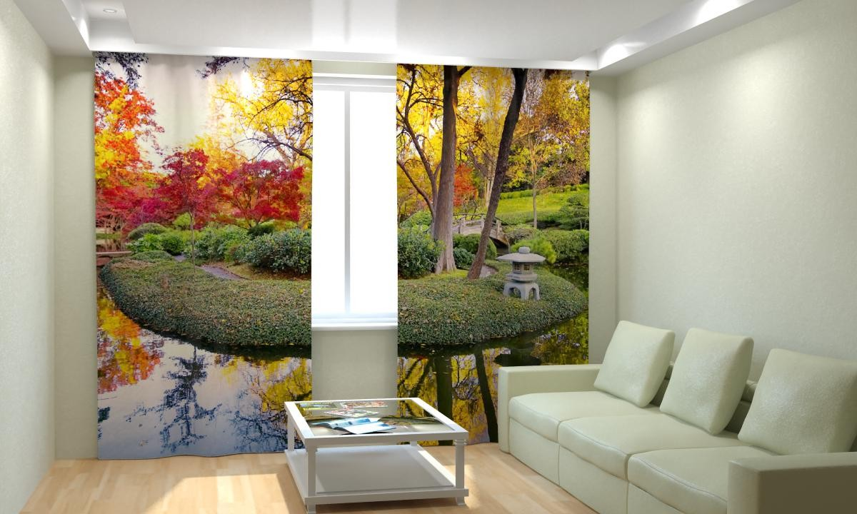 Фотошторы Осенний сад