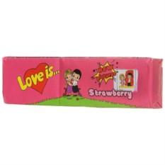 Жевательная резинка о вкусом клубники Love Is