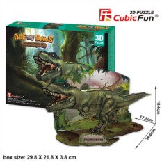 3D пазл Cubic Fun Эра Динозавров. Тираннозавр