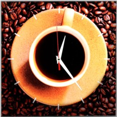 Часы Кофе
