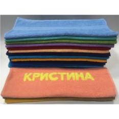 Полотенце с вышивкой Кристина