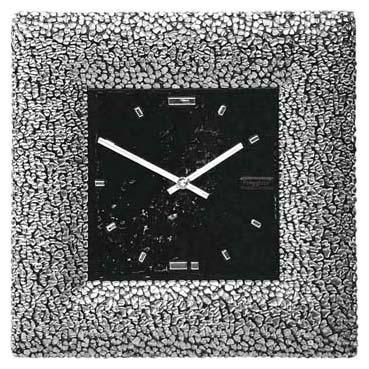 Часы «Платиновый квадрат»  380x380 мм