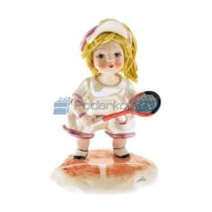 Фарфоровая статуэтка Тенисистка от Zampiva