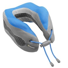 Сине-серая подушка под шею для путешествий CaBeau Evolution