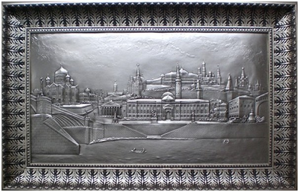 Плакетка Виды Москвы