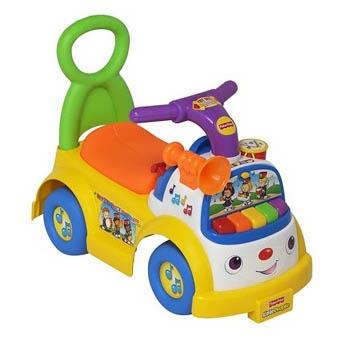 Машинка-каталка «Музыкальный парад»