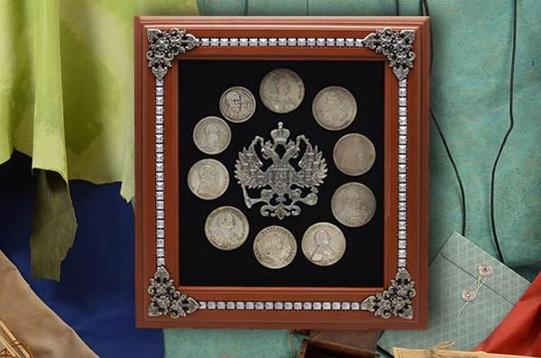 Настенная ключница 300 лет династии Романовых