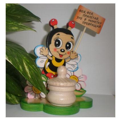 Шкатулка для молочных зубиков «Пчёлка»