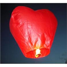 Небесный фонарик Красное Сердце
