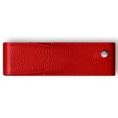 Красный кожаный футляр для 2-х ручек Caran d'Ache Leman