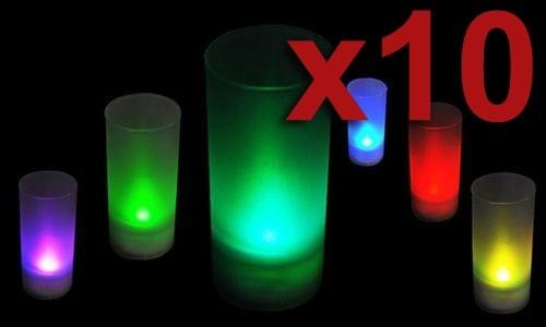 Набор из 10 электронных свеч