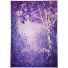 Картина с кристаллами Swarovski Волшебный лес