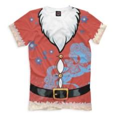 Мужская футболка Новый год. Дед Мороз